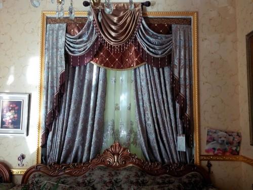 欧式窗帘,中式窗帘,韩式窗帘