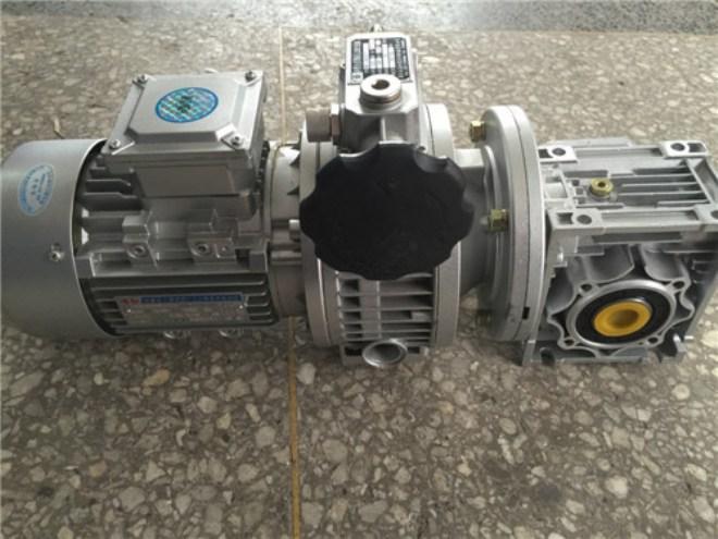 铝壳减速加无极变速电机